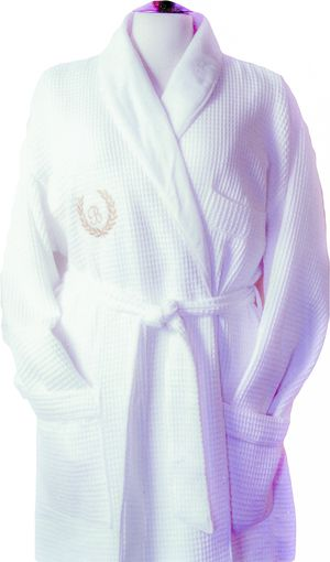 Terry Waffle Shawl Robes (Lined)