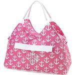Tote - Famous Beach : Pink Anchor