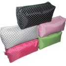 Classic Polka Dotty Cosmetic Case ---- Small