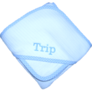 PERSONALIZED HOODED TOWEL-w/WASH CLOTH