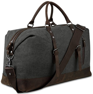 Leather Trim Weekender