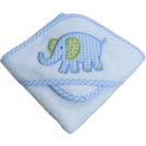 PERSONALIZED APPLIQUED HOODED TOWEL-w/WASH CLOTH