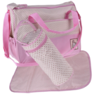Dot Diaper Bag Set - 3 Pieces