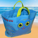 PERSONALIZED CLICKER CRAB BEACH BAGS