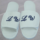 PERSONALIZED OPEN TOE SLIPPERS